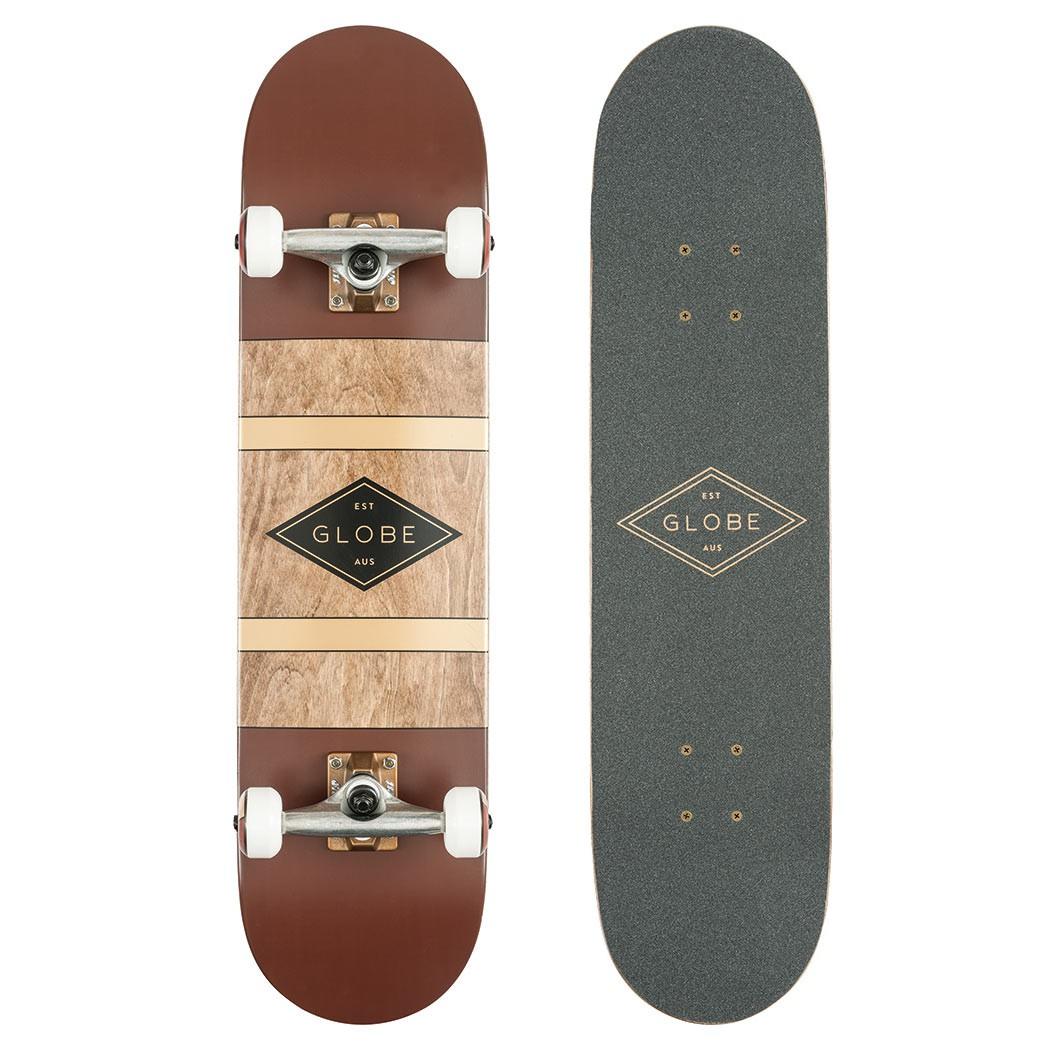 Skateboard Globe Diablo oxblood/anti-brass