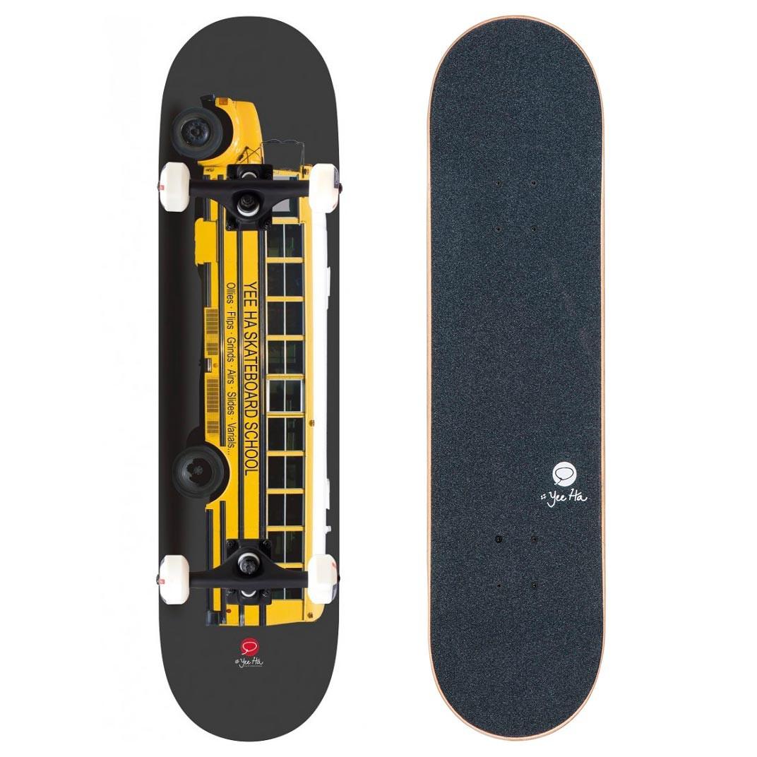 Skateboard Miller Yellow Bus 8.0
