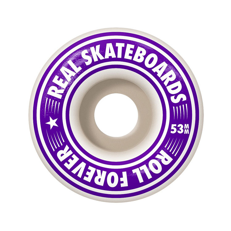 Skateboard Real Oval Tie Dyes 7.3