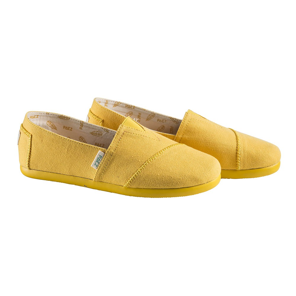 Slip-on Paez Original Block Color W yellow