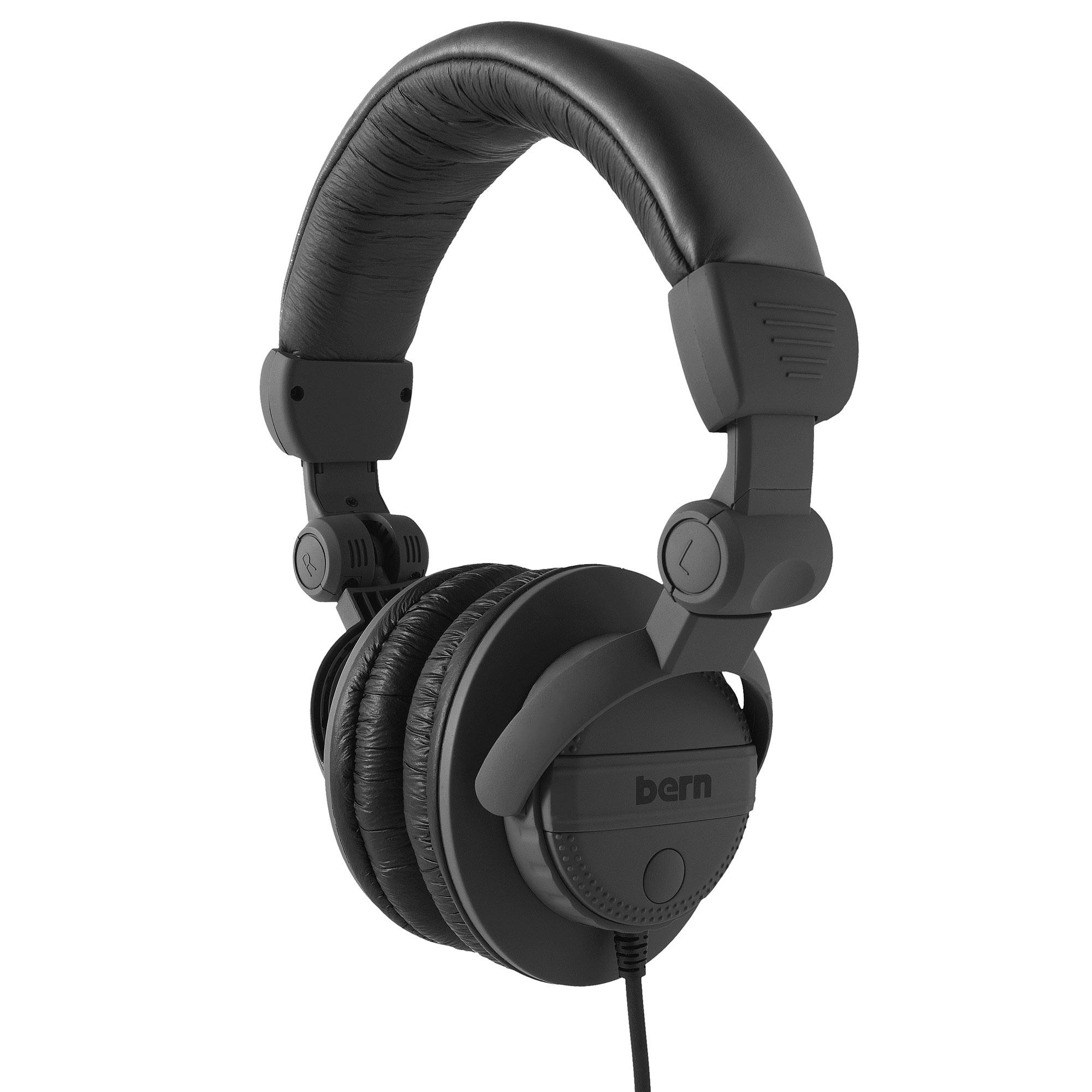 Sluchátka Bern Dj Style black + doručení do 24 hodin