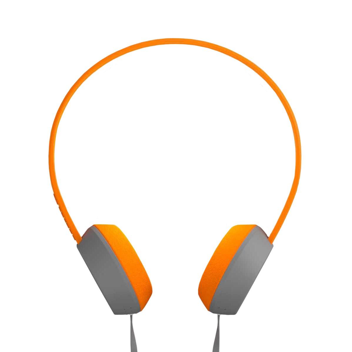 Sluchátka Coloud The Knock blocks grey/orange/grey vel.40 mm + doručení do 24 hodin
