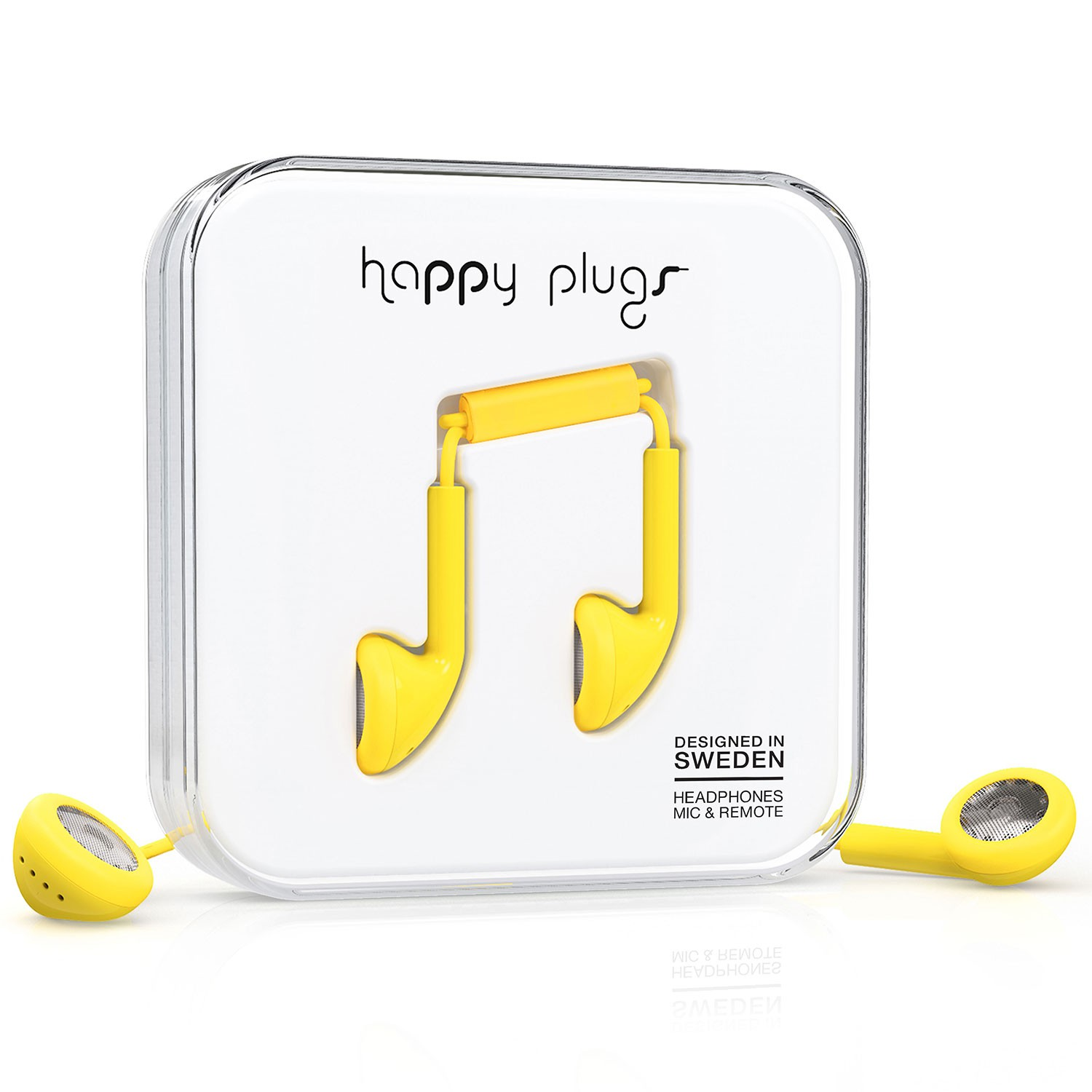 Sluchátka Happy Plugs Earbud yellow