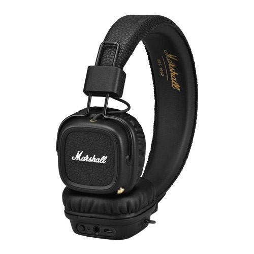 Sluchátka Marshall Major II Bluetooth black