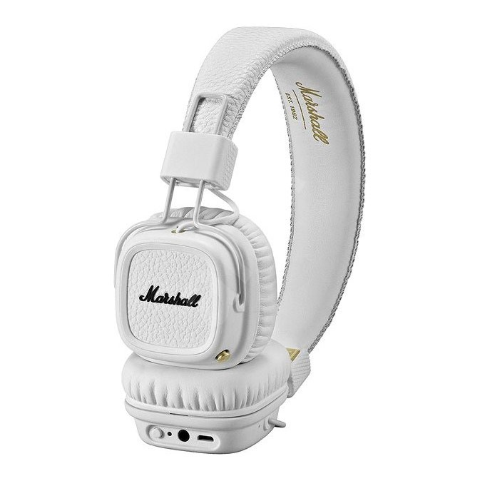 Sluchátka Marshall Major II Bluetooth white