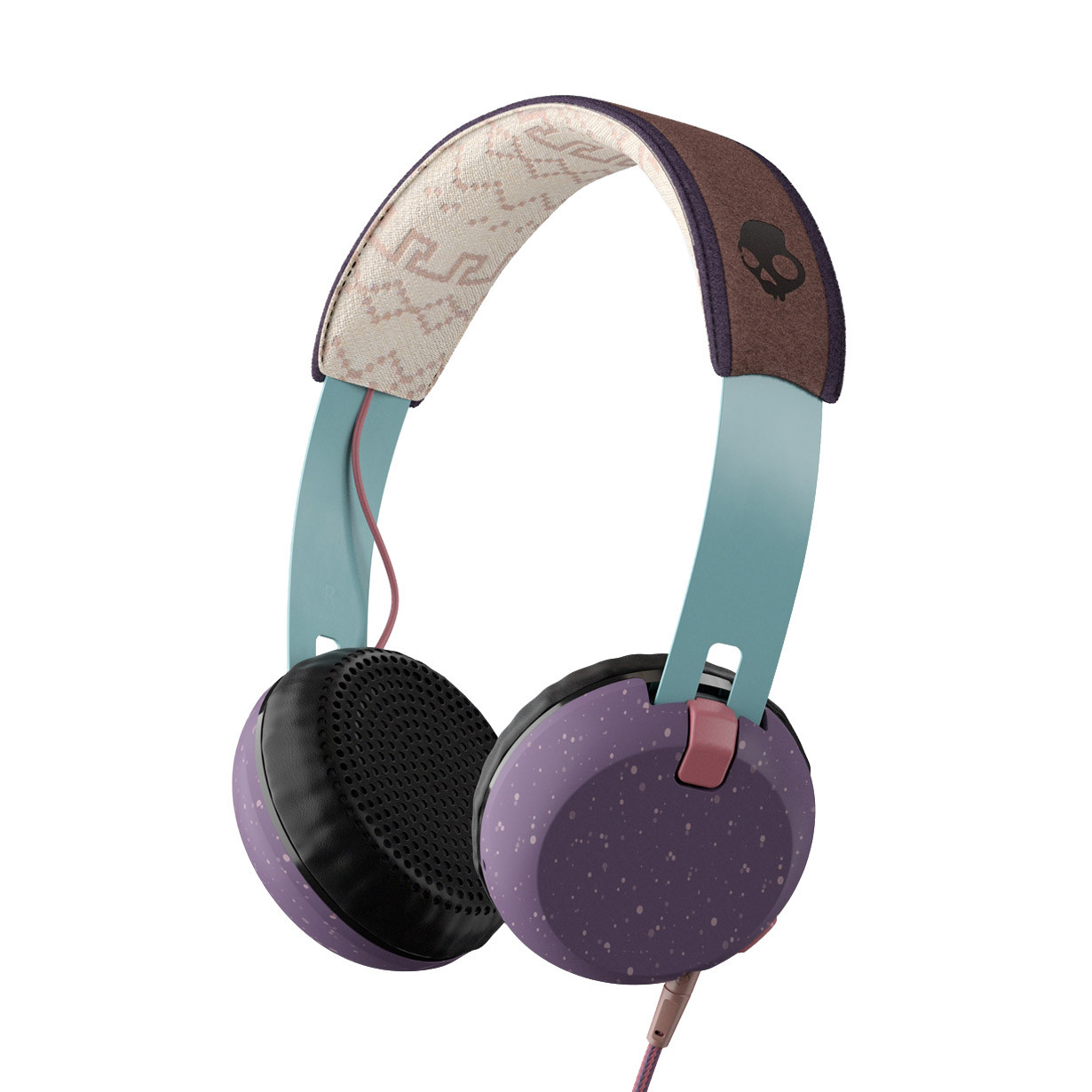 Sluchátka Skullcandy Grind purple/teal/brown