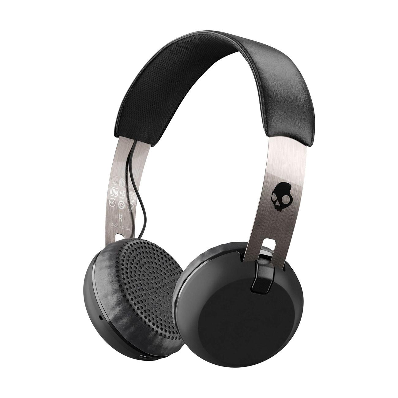 Sluchátka Skullcandy Grind Wireless black/chrome/black