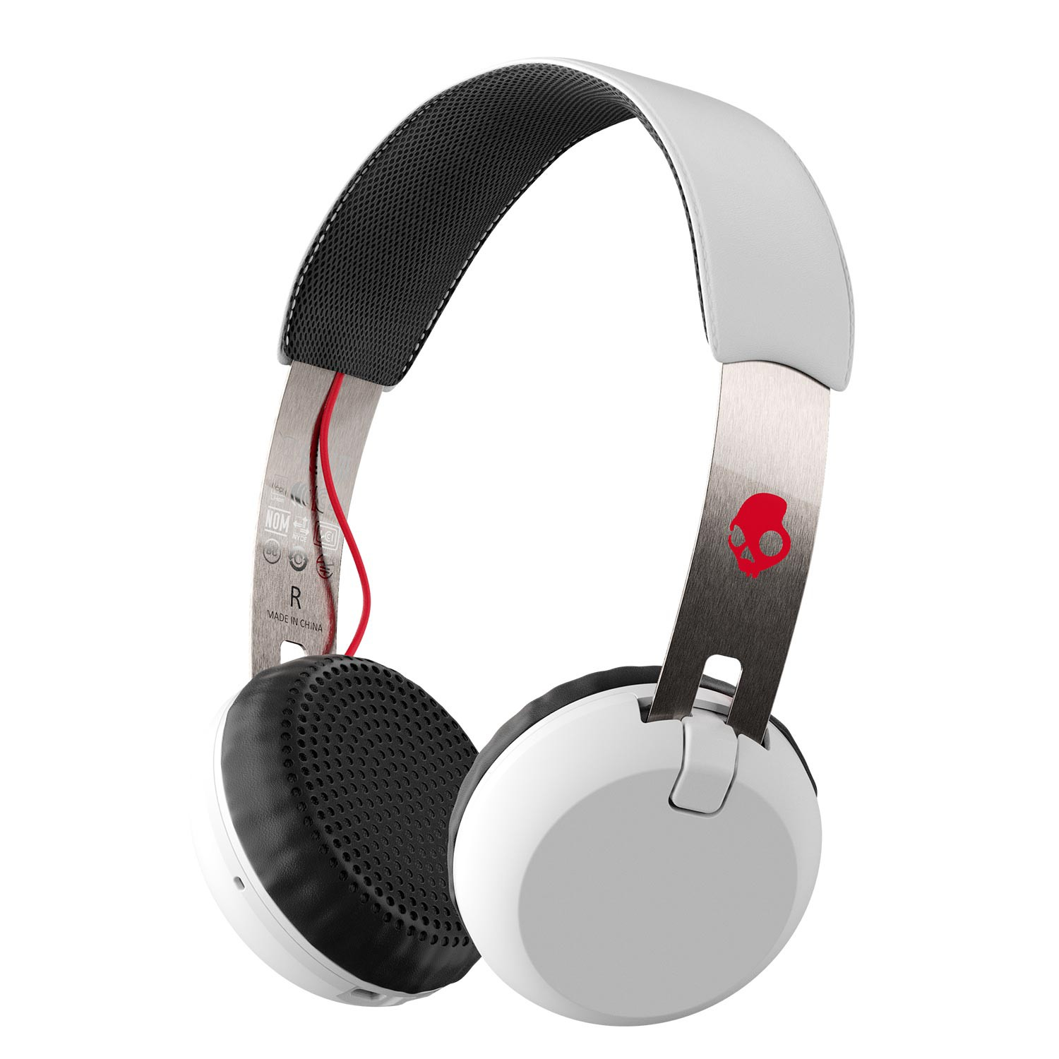 Sluchátka Skullcandy Grind Wireless white