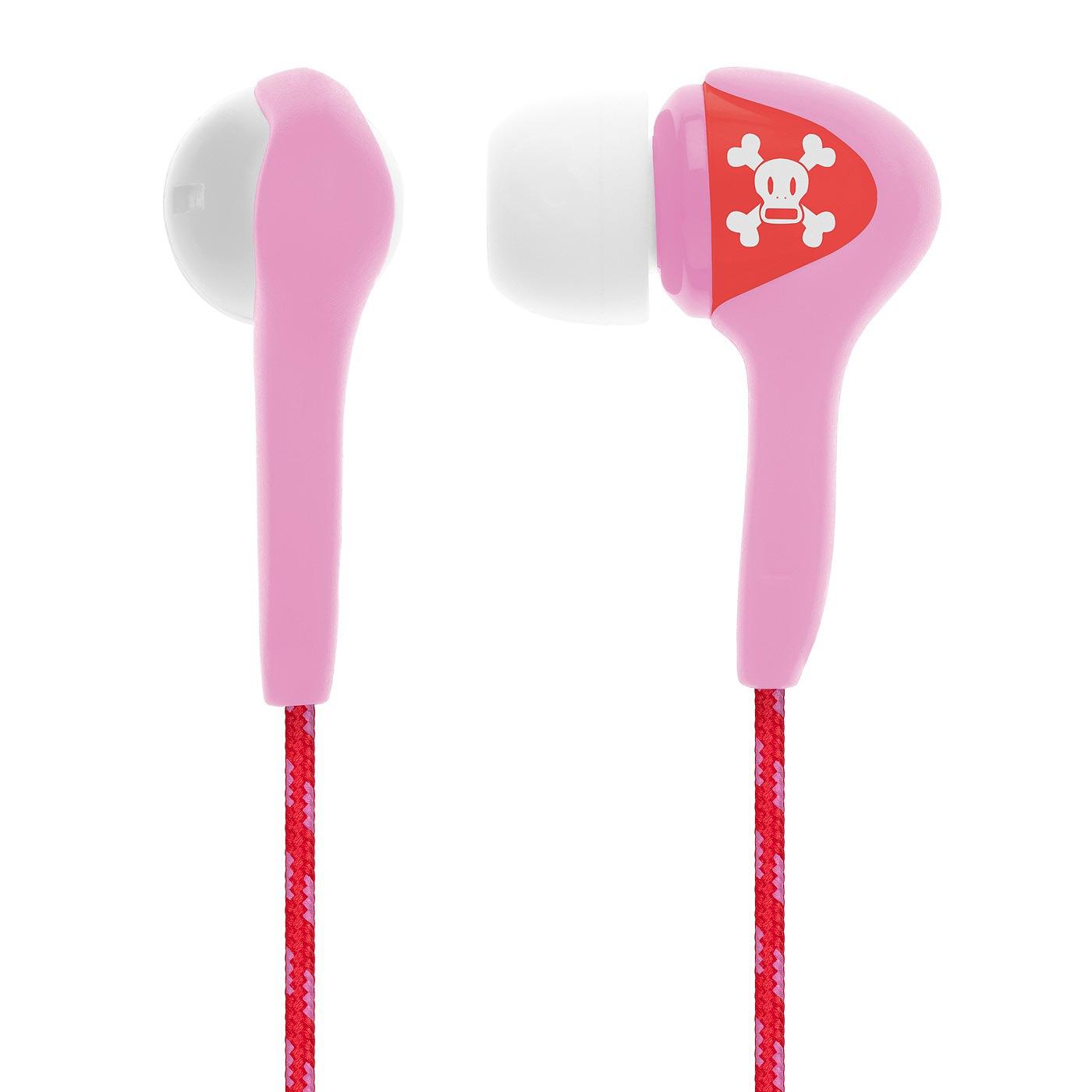 Sluchátka Skullcandy Smokin Buds paul frank pink + doručení do 24 hodin