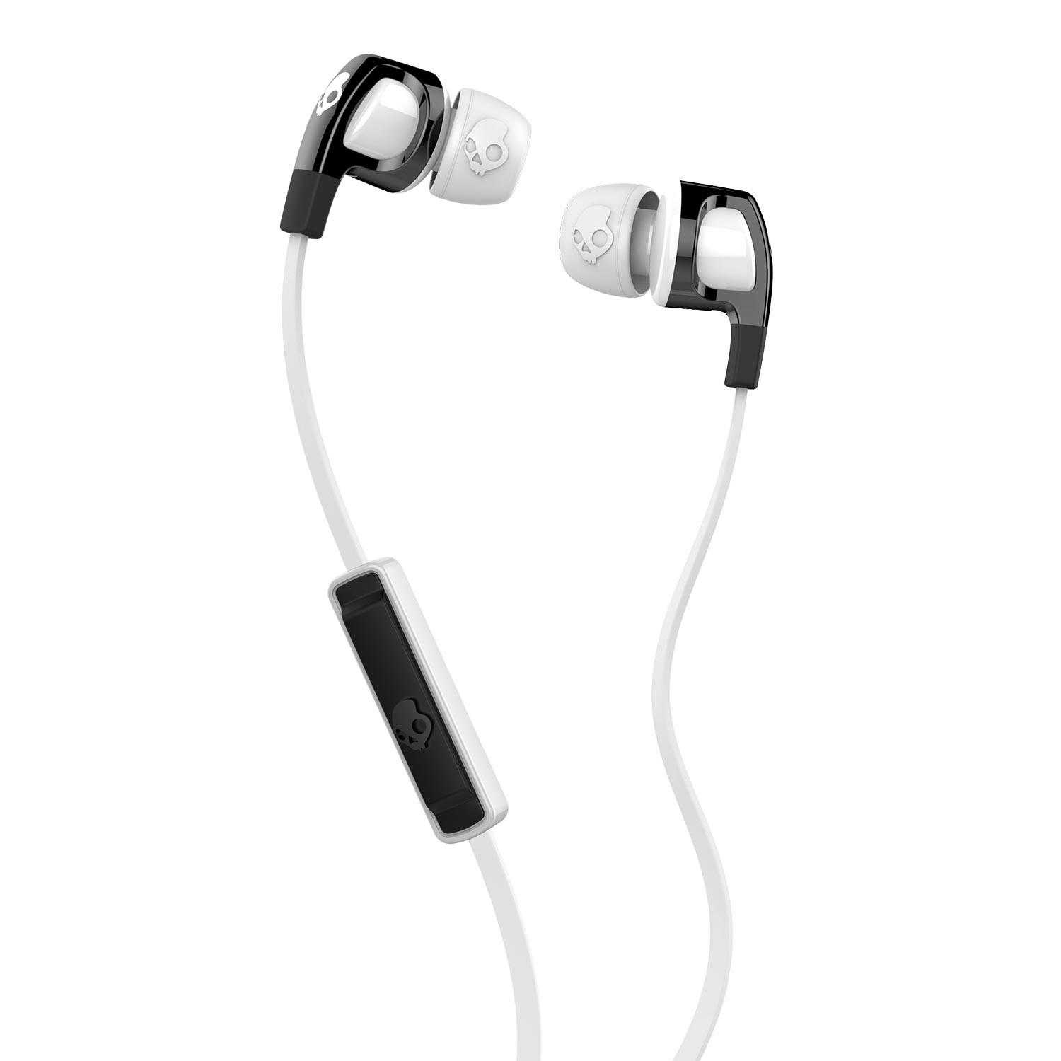 Sluchátka Skullcandy Smokin' Buds 2 black/white