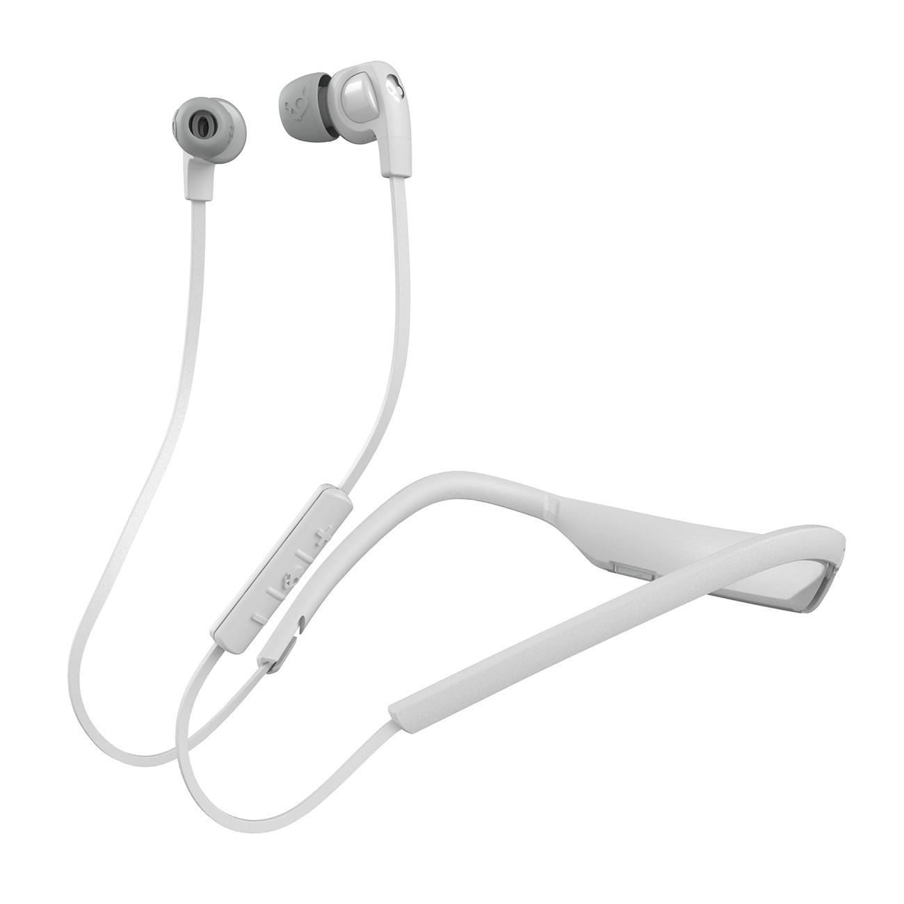 Sluchátka Skullcandy Smokin Buds 2 Wireless white/white/chrome