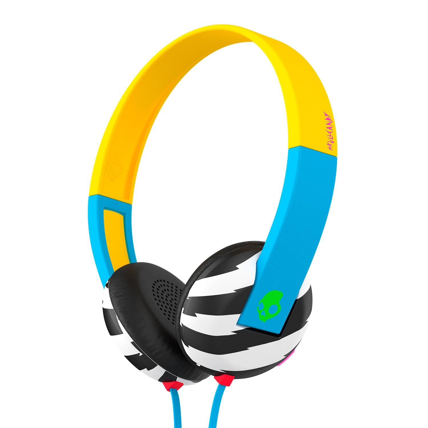 Sluchátka Skullcandy Uproar locals only/blue/green