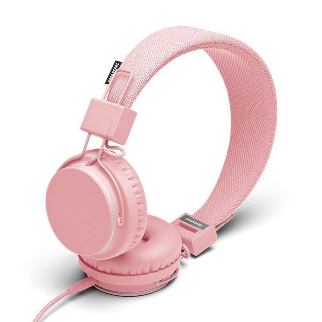Sluchátka Urbanears Plattan powder pink