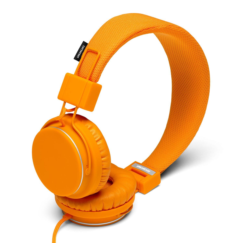 Sluchátka Urbanears Plattan pumpkin vel.20 Hz - 20 kHz/115 dB + doručení do 24 hodin
