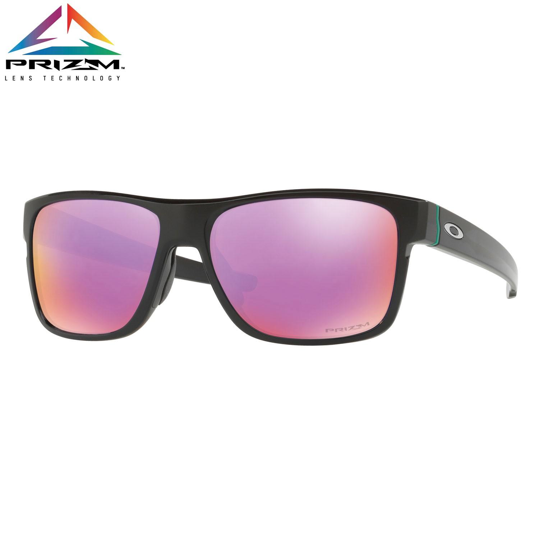 Sluneční brýle Oakley Crossrange polished black