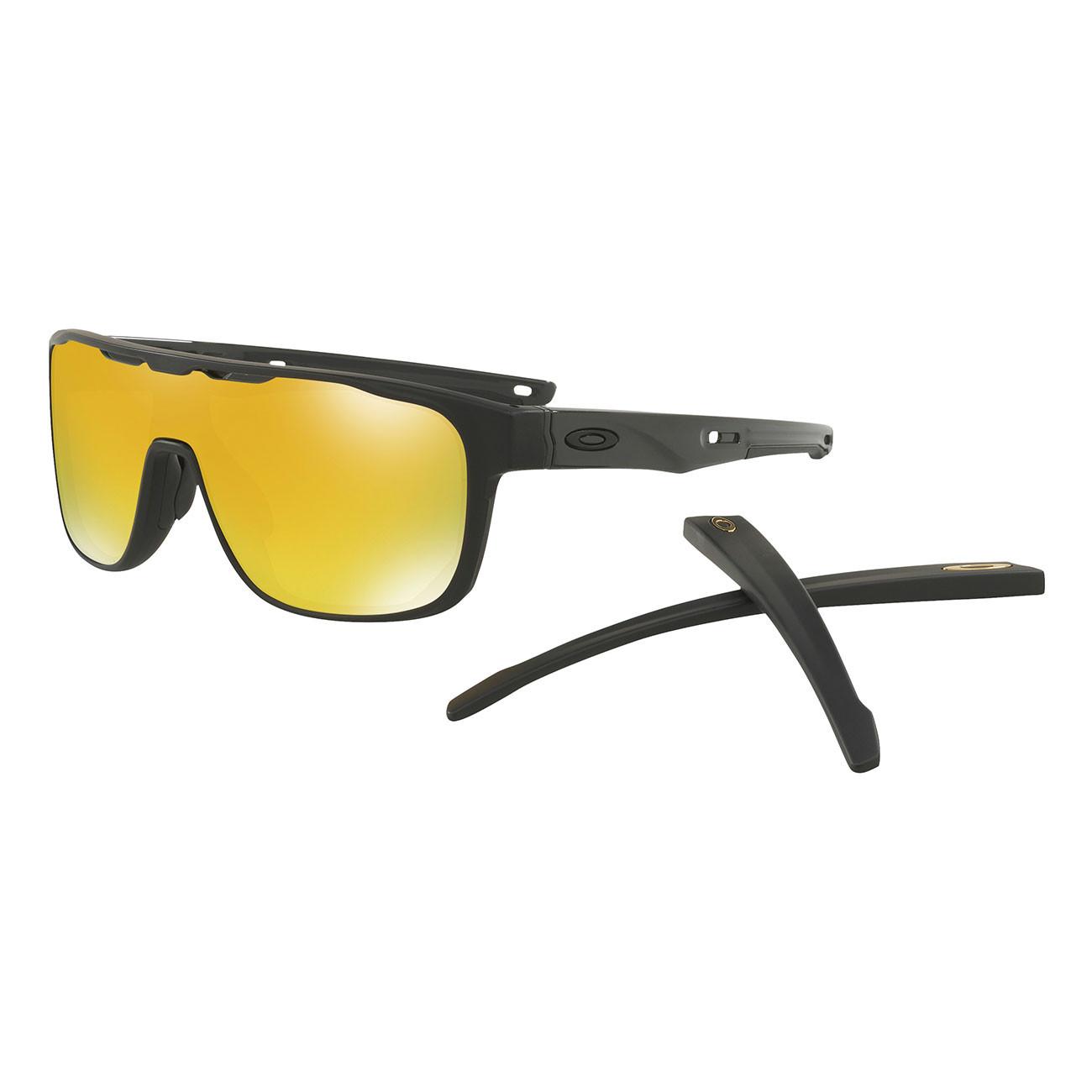 Sluneční brýle Oakley Crossrange Shield matte black