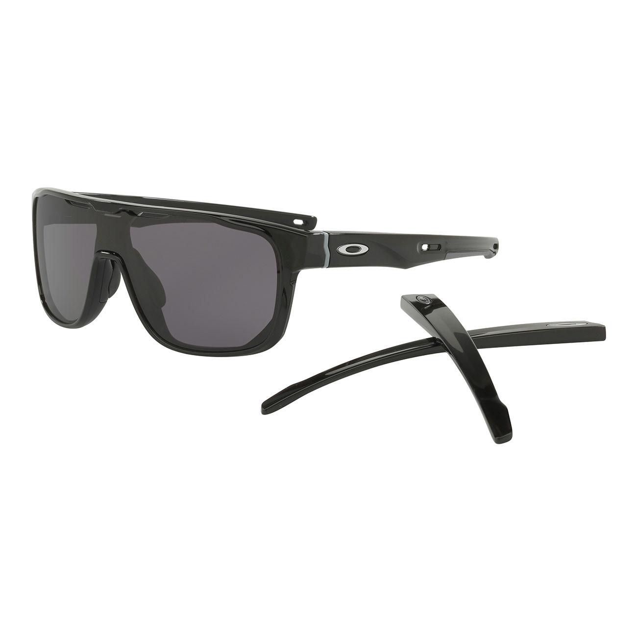 Sluneční brýle Oakley Crossrange Shield polished black
