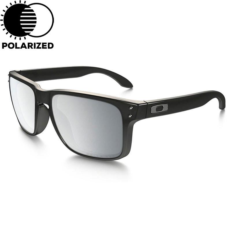 Sluneční brýle Oakley Holbrook black ink vel.CHROME IRIDIUM POLARIZED 16 + doručení do 24 hodin