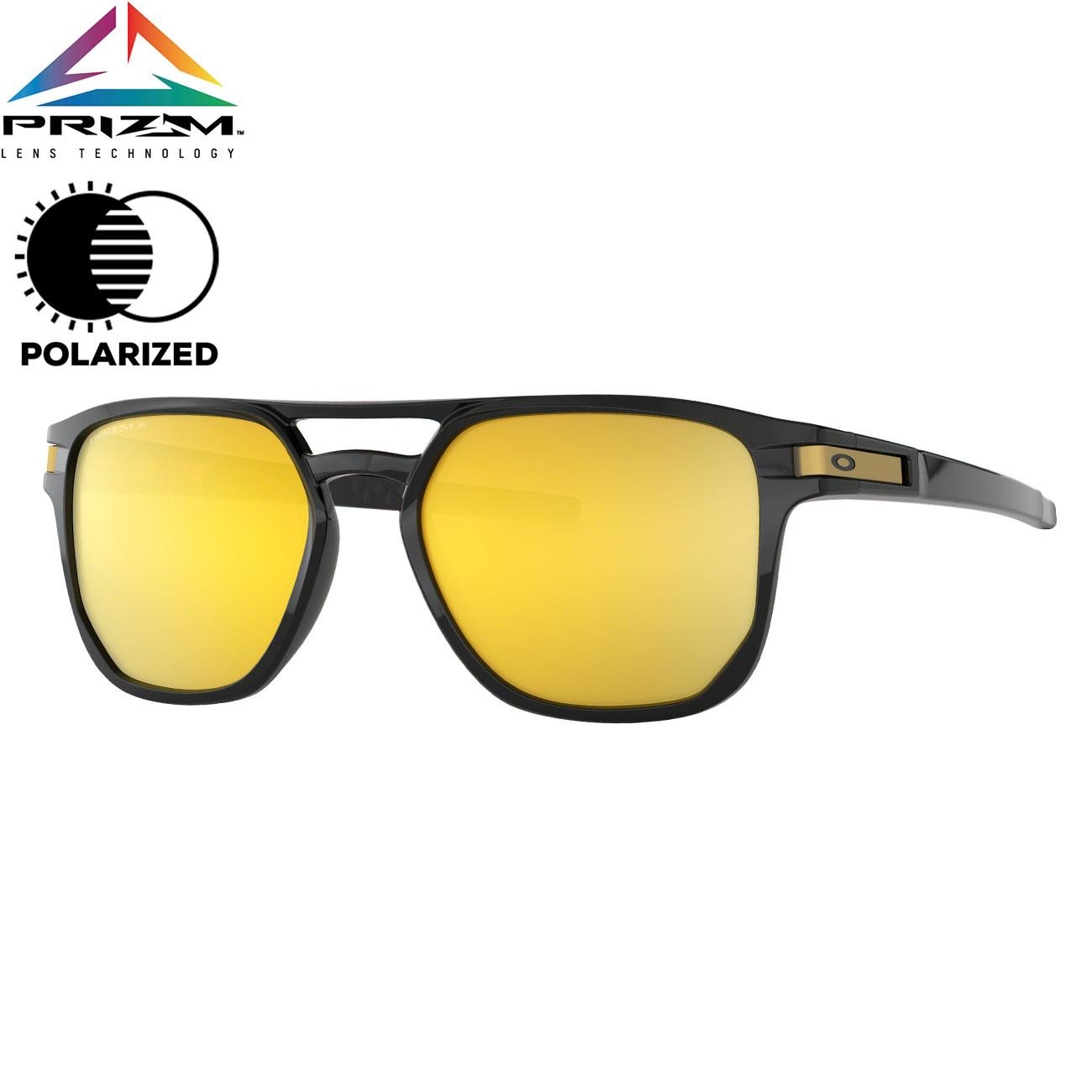 0ebc25822 Slnečné okuliare Oakley Latch Beta polished black | Snowboard Zezula
