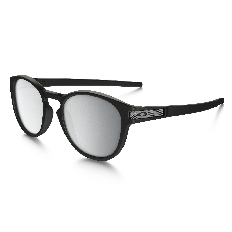 Sluneční brýle Oakley Latch Machinist matte black vel.CHROME IRIDIUM 16 + doručení do 24 hodin