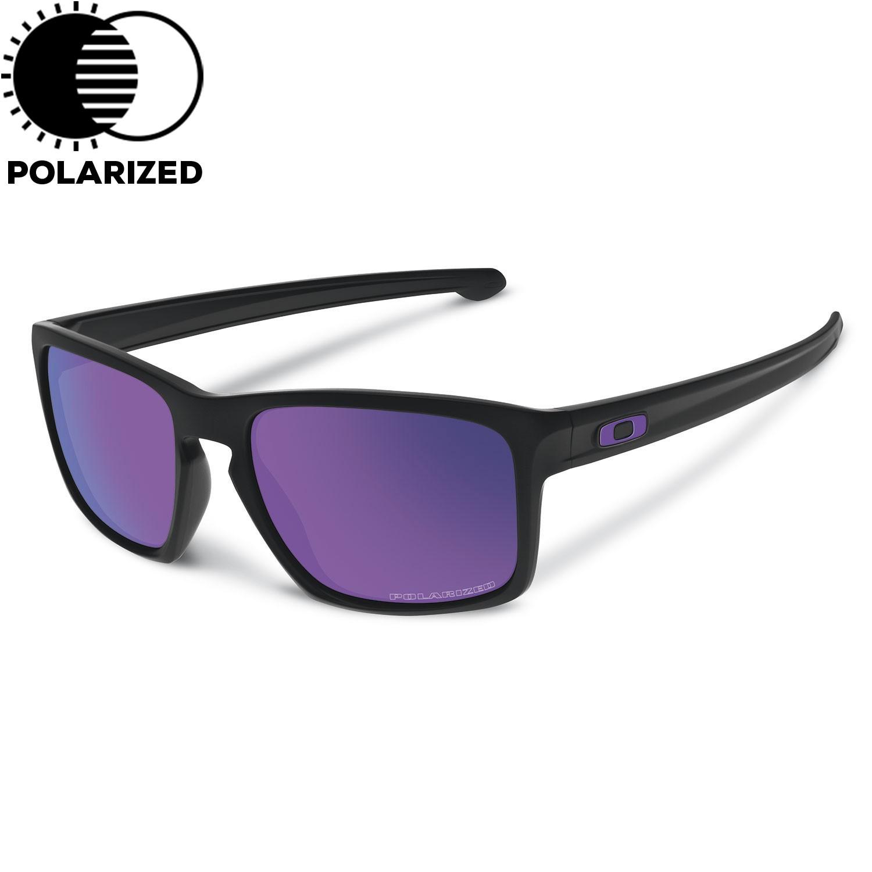 Sluneční brýle Oakley Sliver matte black vel.VIOLET IRIDIUM POLARIZED 16 + doručení do 24 hodin