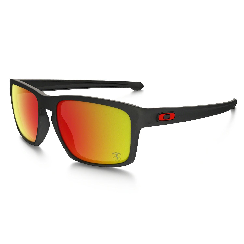 Sluneční brýle Oakley Sliver Scuderia Ferrari matte black vel.RUBY IRIDIUM 16 + doručení do 24 hodin