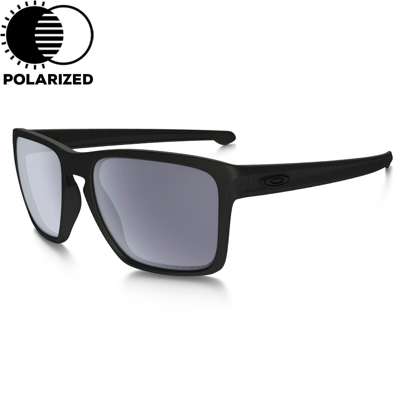 Sluneční brýle Oakley Sliver Xl matte black vel.GREY POLARIZED 16 + doručení do 24 hodin