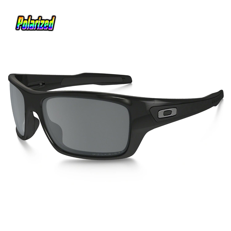 Sluneční brýle Oakley Turbine polished black