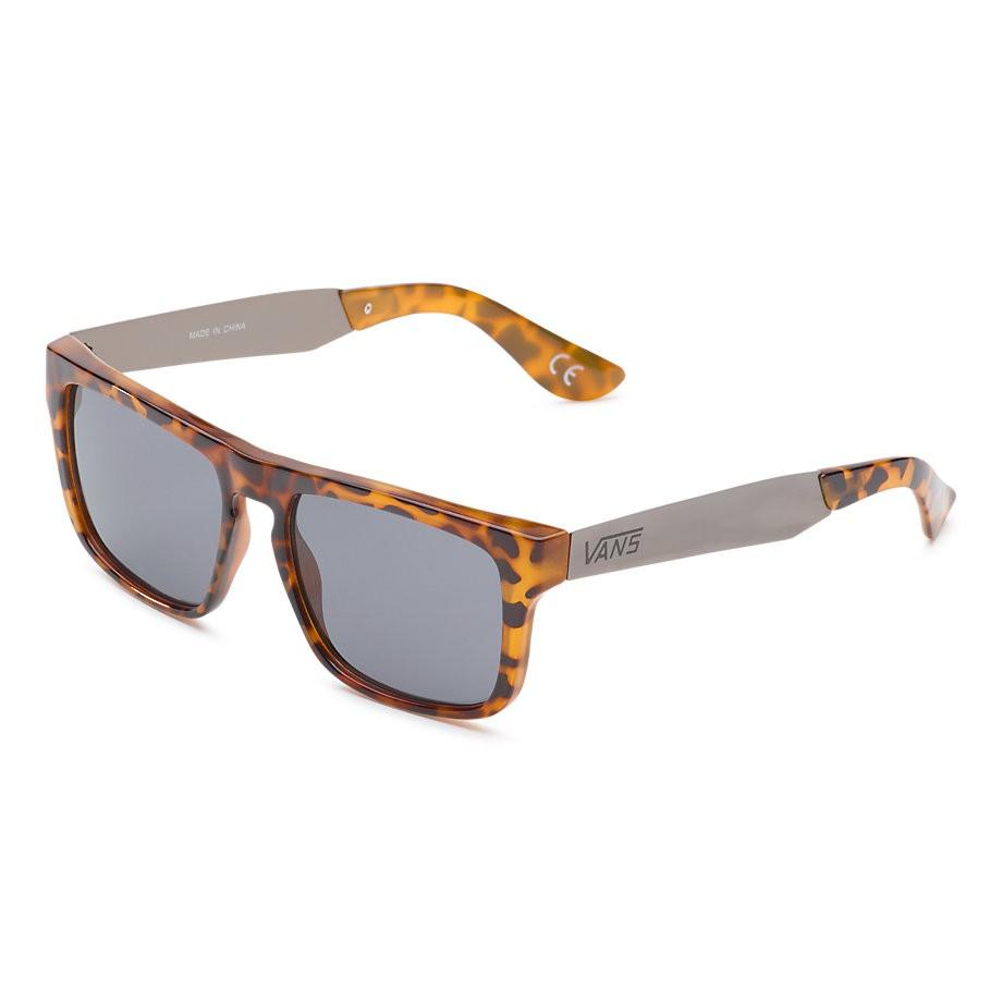 Sluneční brýle Vans Squared Off clear tortoise/gun metal