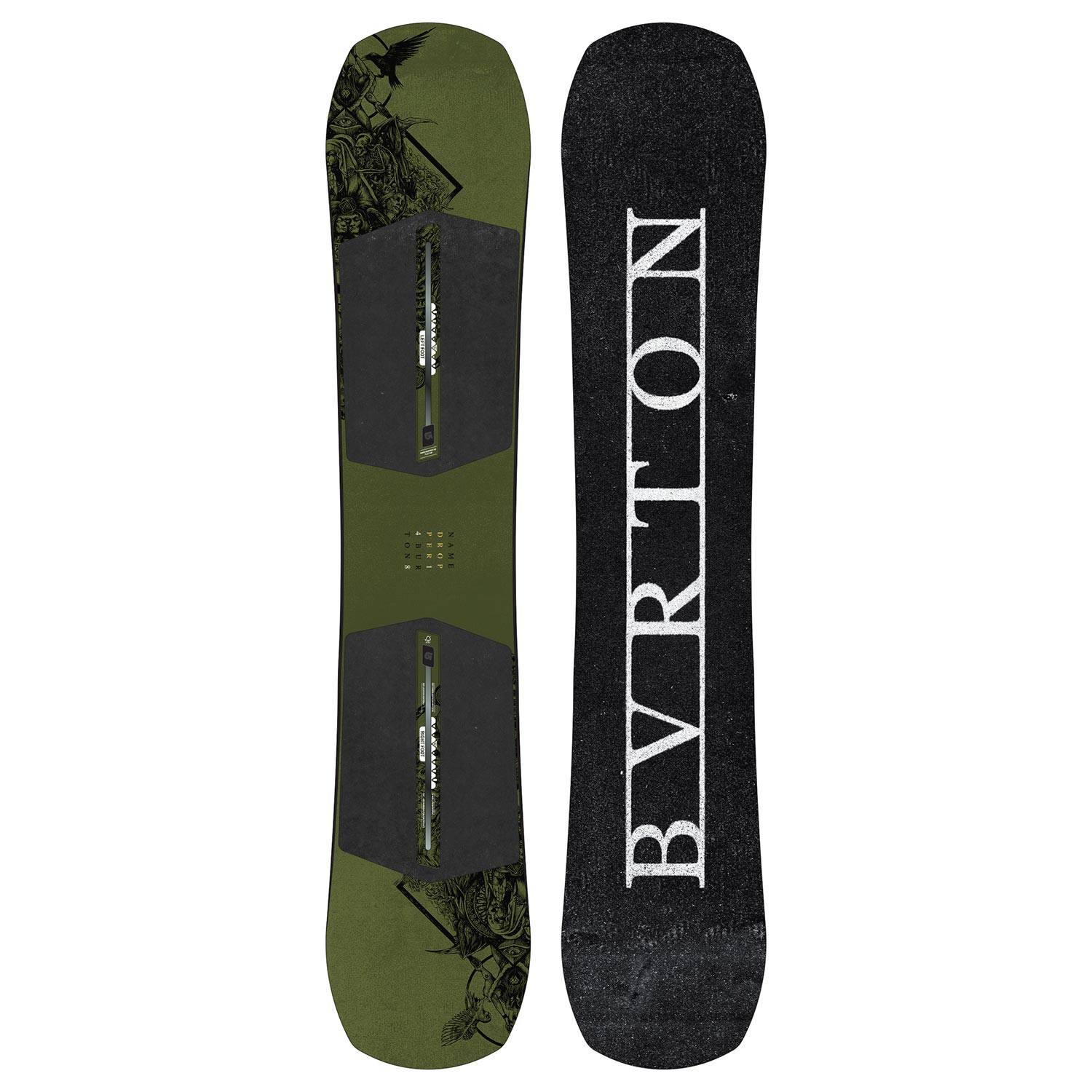 Snowboard Burton Name Dropper