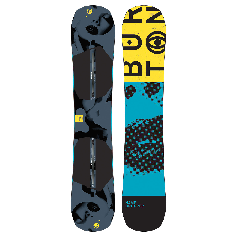 Snowboard Burton Name Dropper