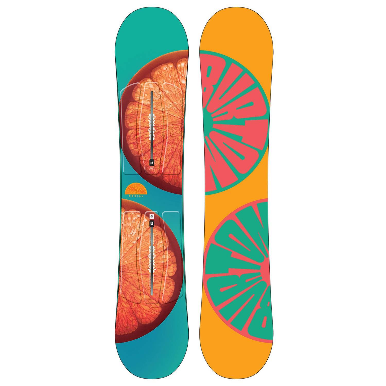Snowboard Burton Social