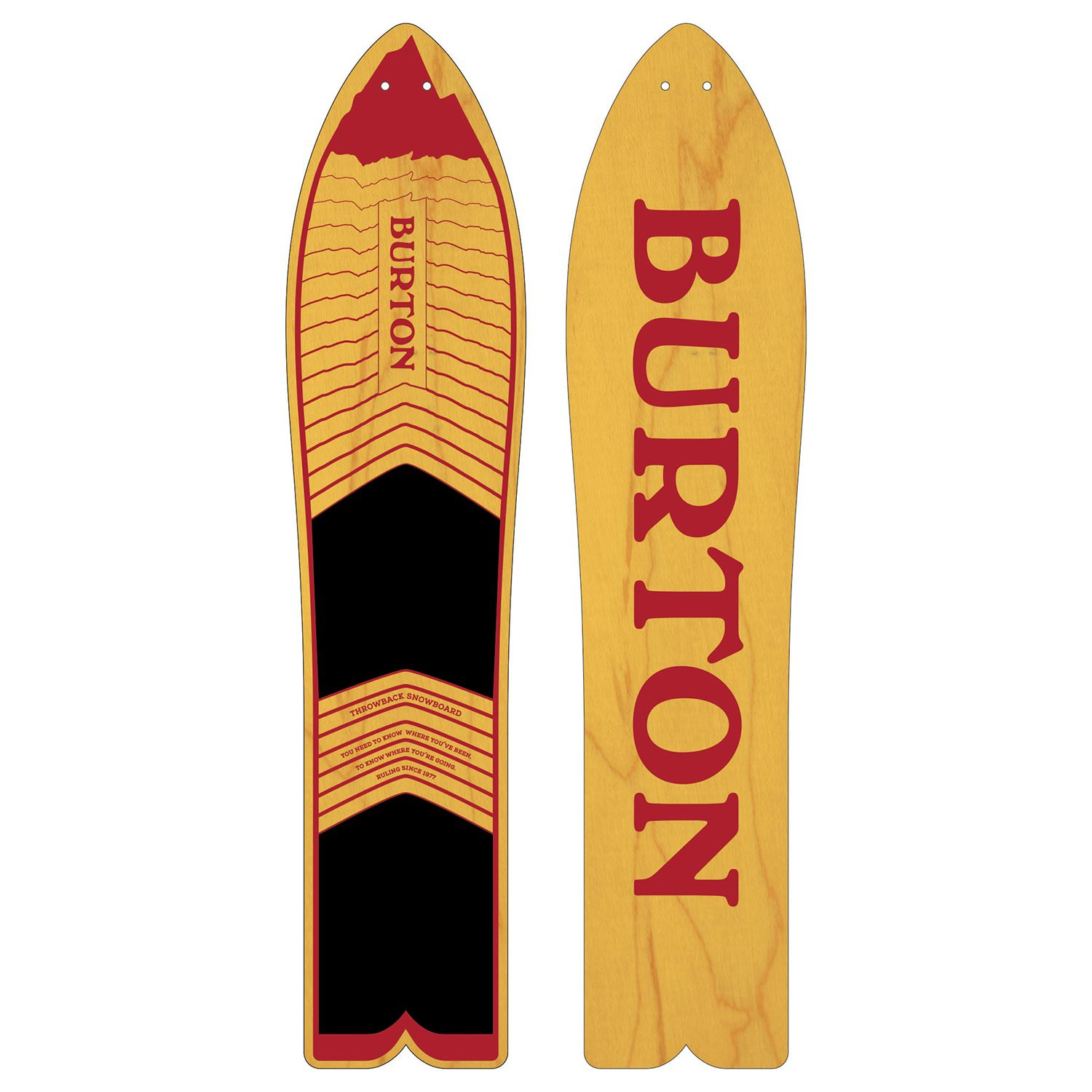 Snowboard Burton The Throwback