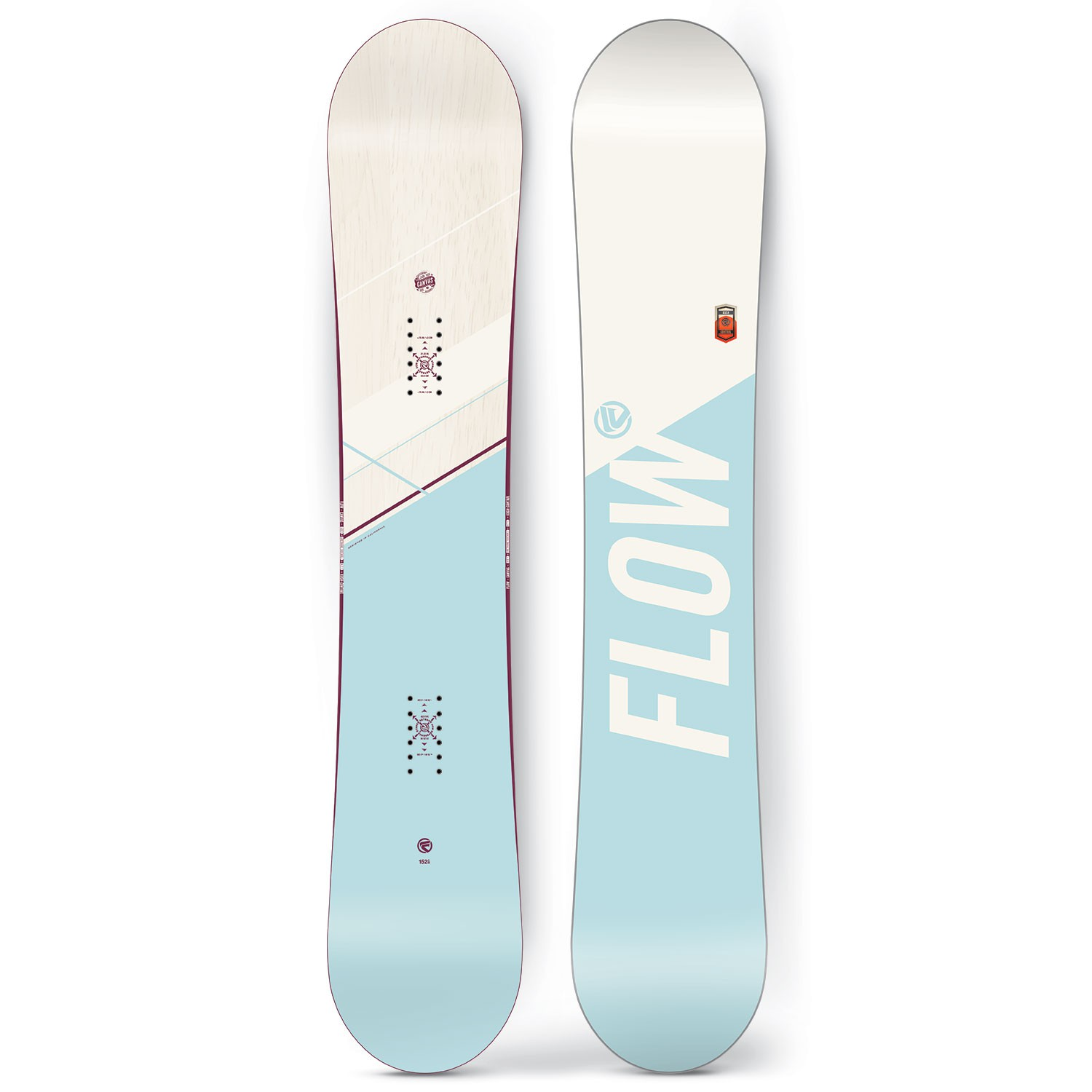 Snowboard Flow Canvas
