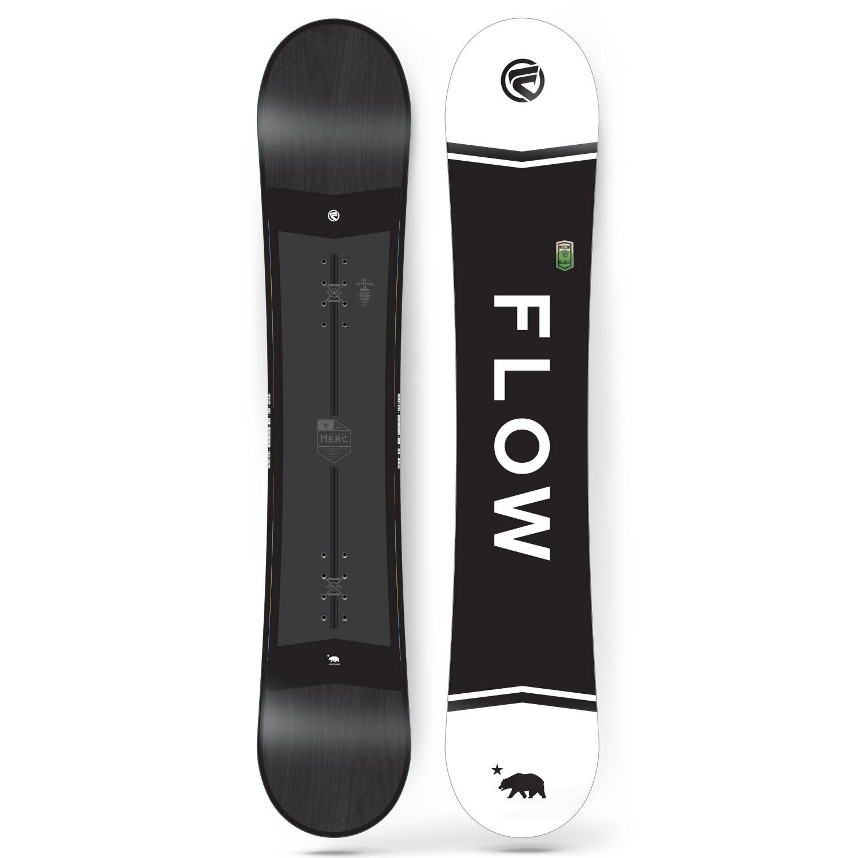Snowboard Flow Merc black