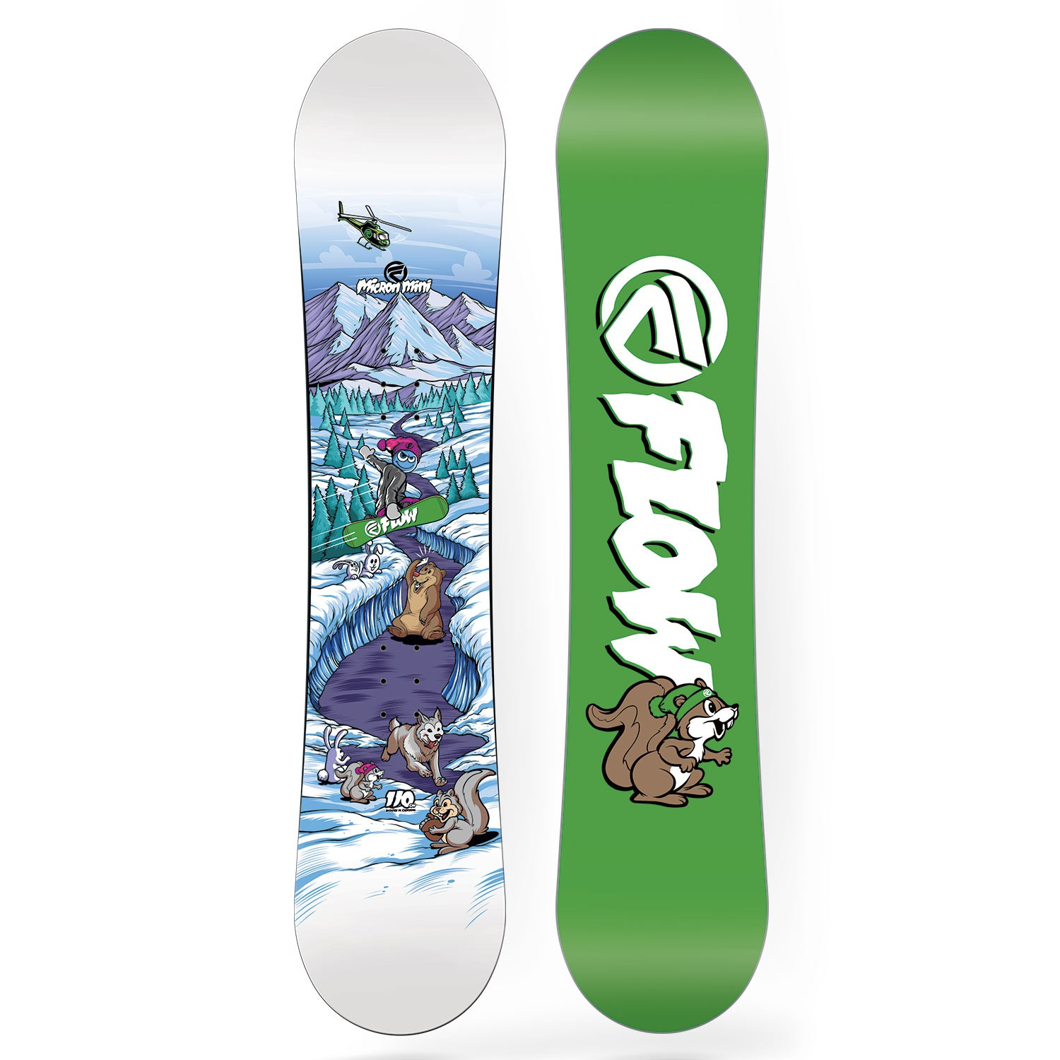 Snowboard Flow Micron Mini