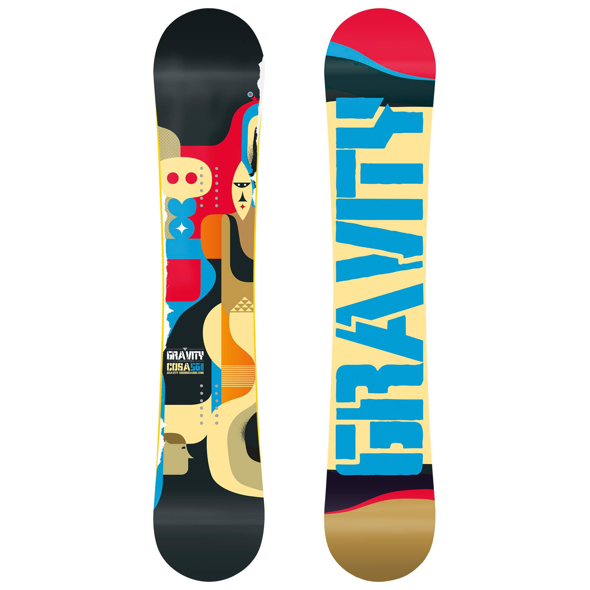Snowboard Gravity Cosa Wide