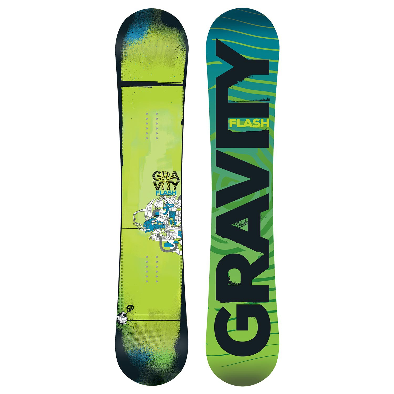 Snowboard Gravity Flash