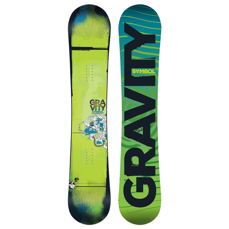 Snowboard Gravity Symbol vel.160 16/17 + doručení do 24 hodin
