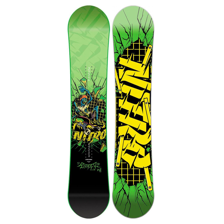 Snowboard Nitro Ripper Youth vel.142 16/17 + doručení do 24 hodin