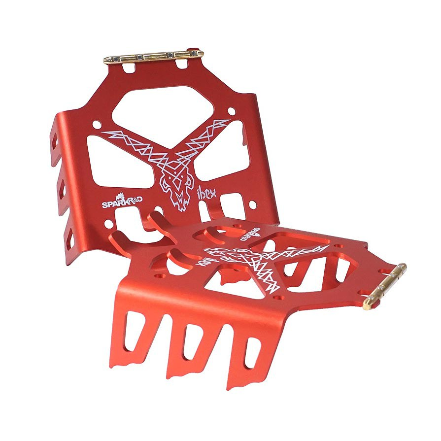 Spark R&D Ibex Crampon red