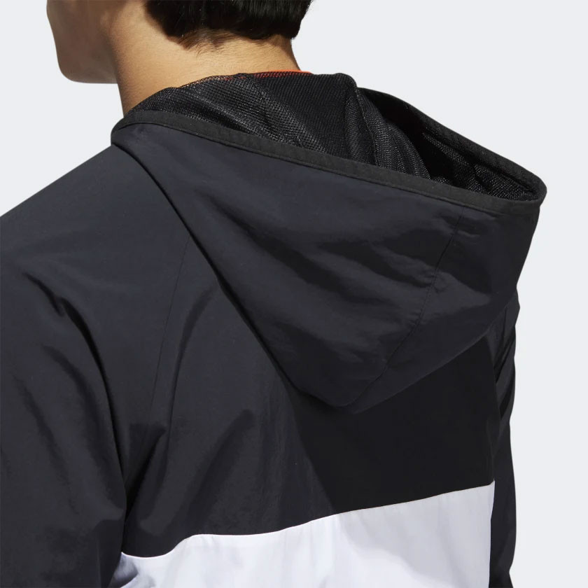 Street kurtka Adidas Dekum Packable blackwhite