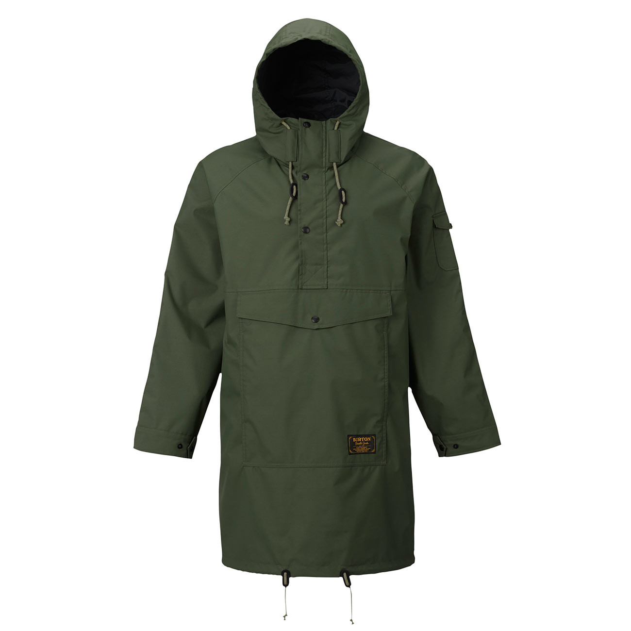 Street bunda Burton Warren Anorak rifle green