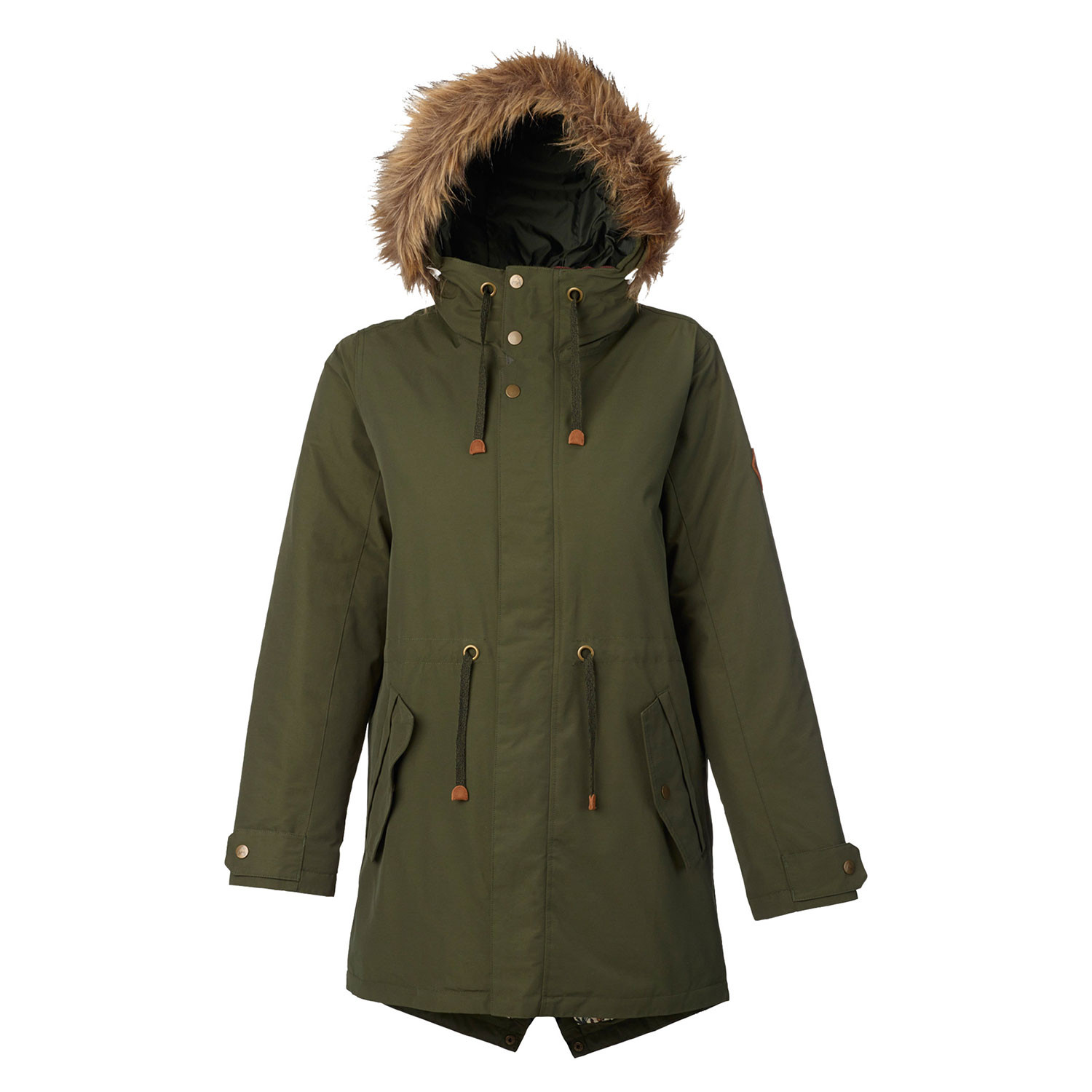 Street bunda Burton Wms Saxton Parka forest night