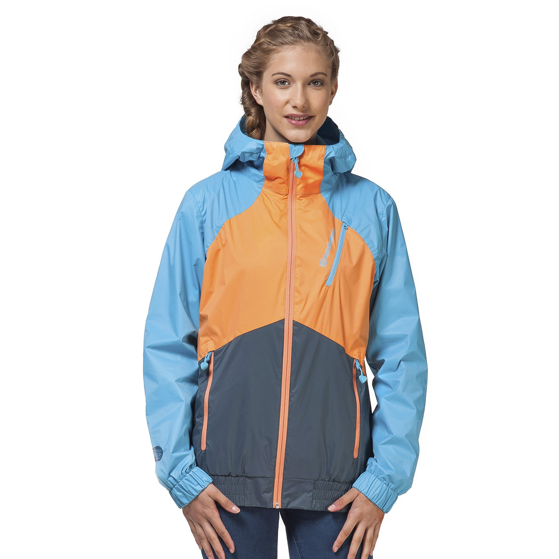 Street bunda Horsefeathers Denise pumpkin/blue vel.L 16 + doručení do 24 hodin