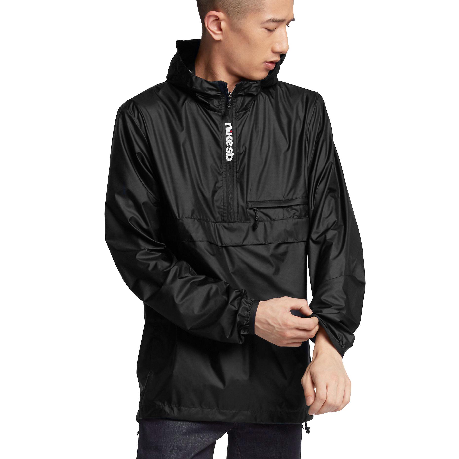 Street bunda Nike SB Packable Anorak black/black