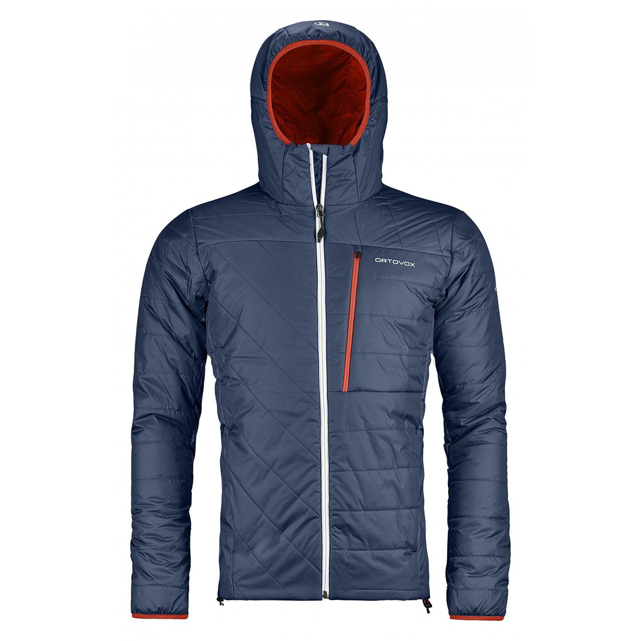 Street bunda Ortovox Piz Bianco Jacket night blue