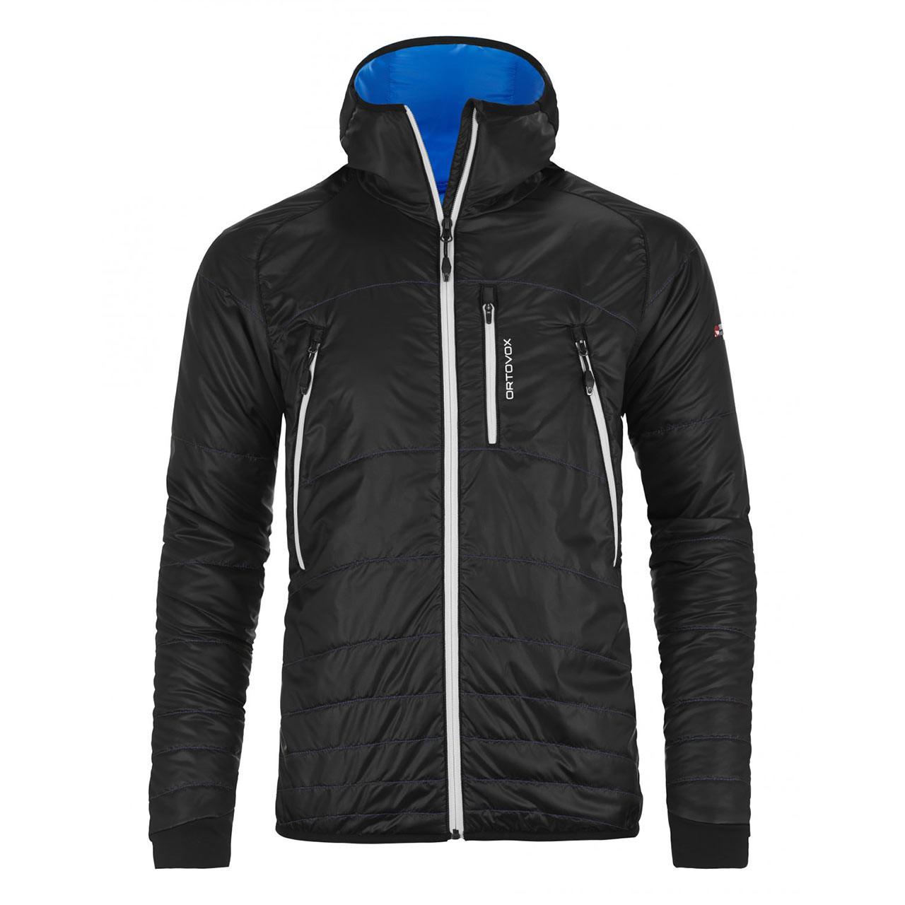 Street bunda Ortovox Piz Boé Jacket black raven