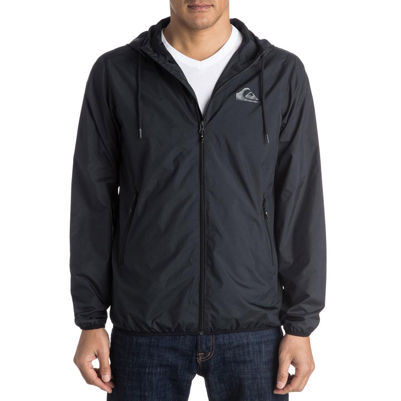 Street bunda Quiksilver Everyday Jacket black vel.XL 17 + doručení do 24 hodin