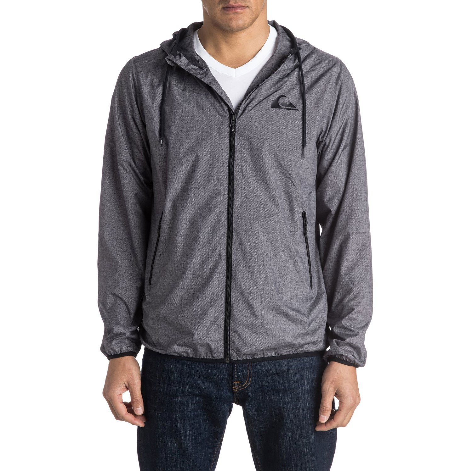 Street bunda Quiksilver Everyday Jacket dark grey heather